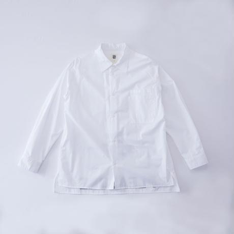 PRINT SHIRT / white