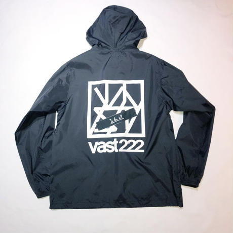 LOGO NYLON PARKA / black