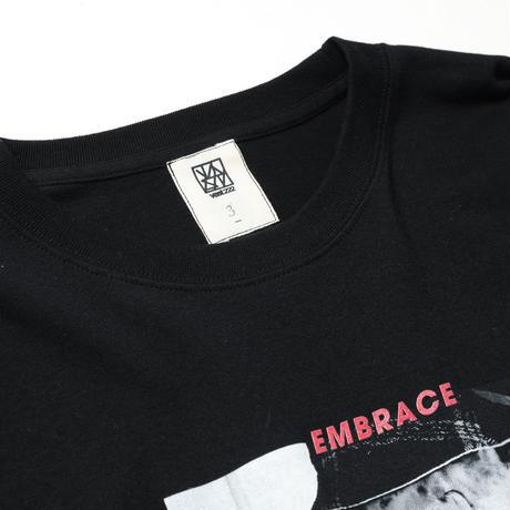 """EMBRACE"" L/S TEE / black"