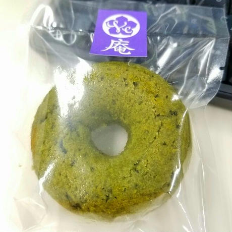 【4個】ヴィーガン&グルテンフリー米粉焼きドーナツ(国産有機桑茶)