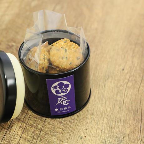 【単品】防湿缶入り・戦国飯クッキーシリーズ(兵糧丸)蕎麦粉クッキー