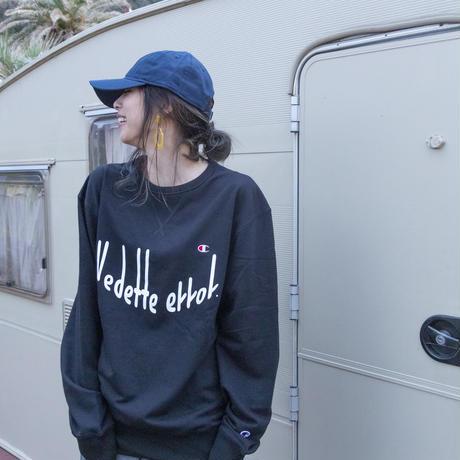 VEDETTE ERROR(ヴェデットエラー) LOGO sweatshirt (black)