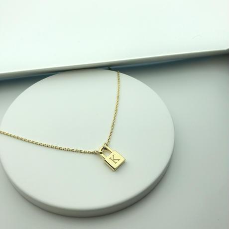 K10 padlock necklace - K series -