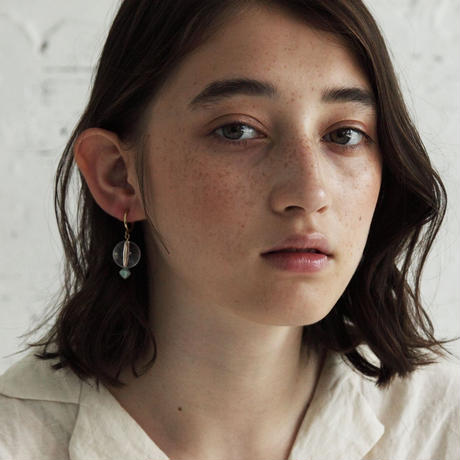 CLEARBALL EARRINGS クリアボールイヤリング