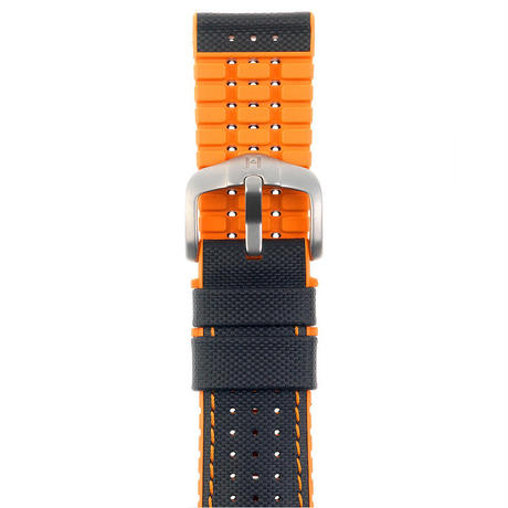 Option Belt-Rubber Robby Orange