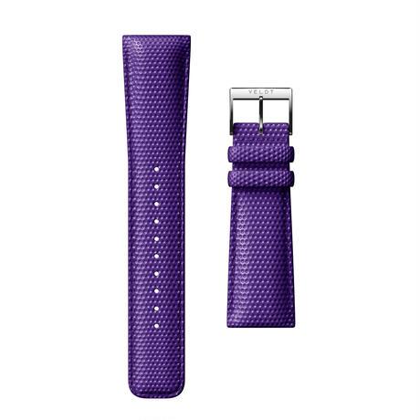 Option Belt - Leather Purple