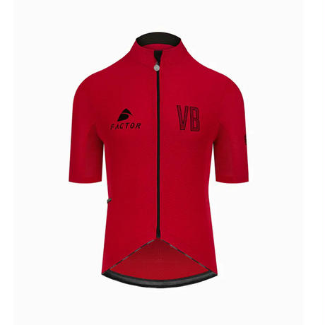 Factor Jersey (Red) Factor Collection /ファクターコレクション 半袖ジャージ レッド男女兼用