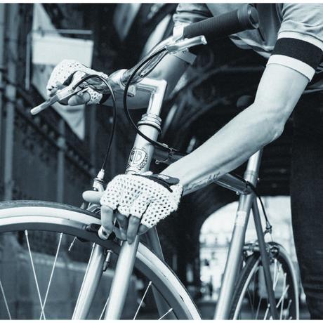 [ブリックレーンバイクス] BLBサイクリングメッシュグローブ ホワイト GLBW006