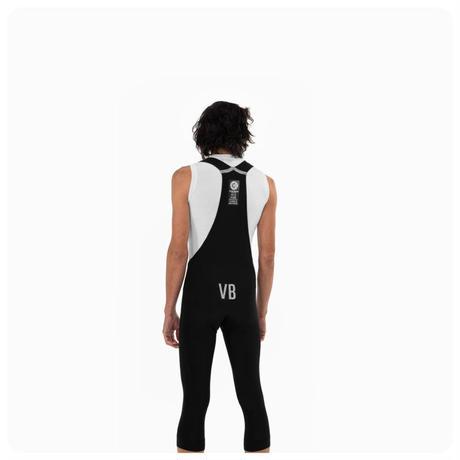 3/4 Thermal Bib Knickers/Black/ Mens / 3/4 サーマルビブニッカ―黒 メンズ(VB-MR-RW-1291)