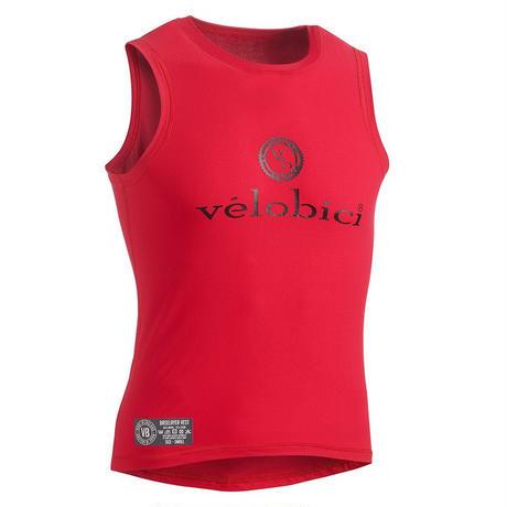 Performance Mesh Baselayer Sleeveless Red / パフォーマンス メッシュ 春夏用ベースレイヤー Red(袖なし)(VB-153R)