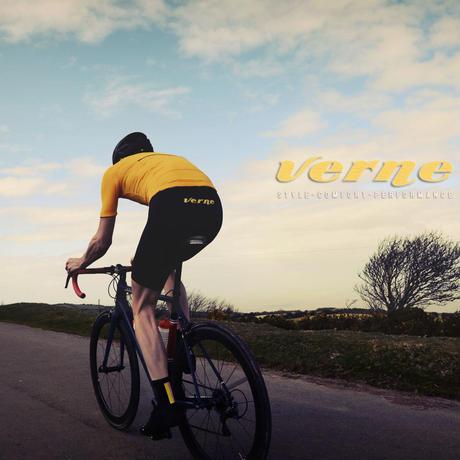 Verne Short Sleeve Jersey Gold / ヴァーン 半袖ジャージ Gold 男女兼用(VB-195,197)