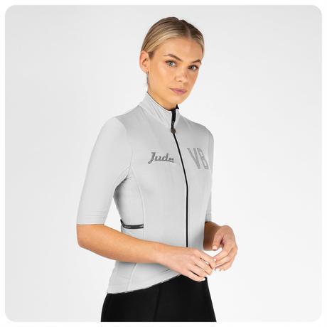 Jude Short Sleeve Jersey Silver / ジュード 半袖ジャージ  シルバー 男女兼用 VB-JJA,JJAW