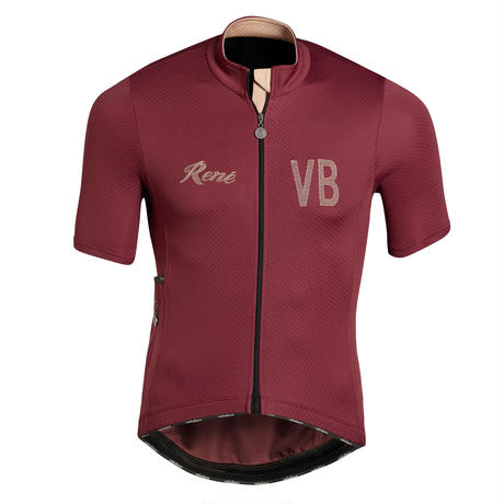 Rene Short Sleeve Jersey Wine Mens&Womens / レネ  半袖ジャージ  ワイン  メンズ&レディース(VB-234,241)