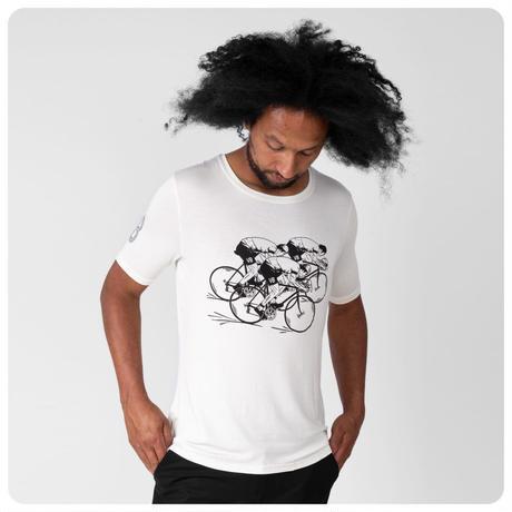 VB Group Cyclists T-Shirts Ivory/5 (L)/179-185cm/ VB グループ サイクリストTシャツ アイボリー L サイズのみ