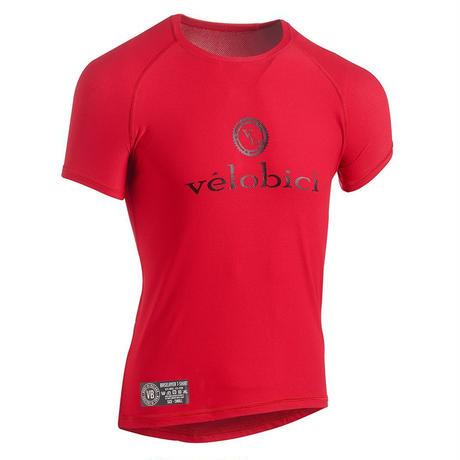Performance Mesh Baselayer Short Sleeve Red / パフォーマンス メッシュ ベースレイヤー Red(半袖)(VB-152R)