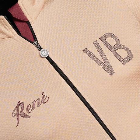 Rene Light Short Sleeve Jersey Sand / レネ  ライト 半袖ジャージ  サンドベージュ男女兼用(VB-235,242)