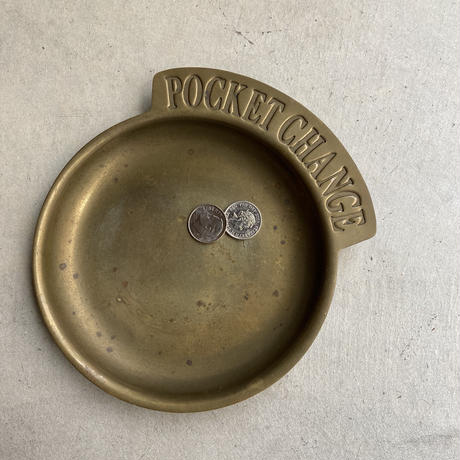 Brass Pocket Change Dish(真鍮の小銭トレイ)