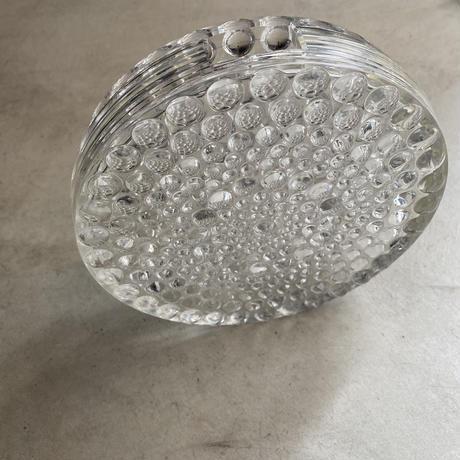 70's Glass Flower Vase(つぶつぶガラスの花瓶)