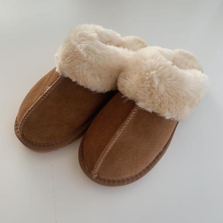 sheepskin slipper