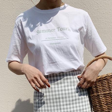summer touris T-shirt