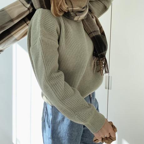 basic knit[green]