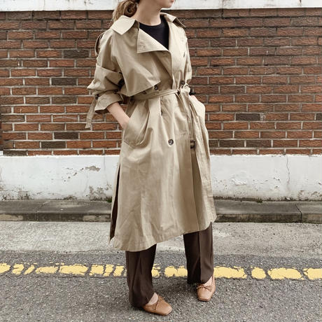 side slit trench coat[beige]
