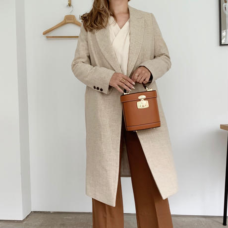 long tailored jacket[beige]