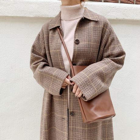 handmade soutien collar coat[check]