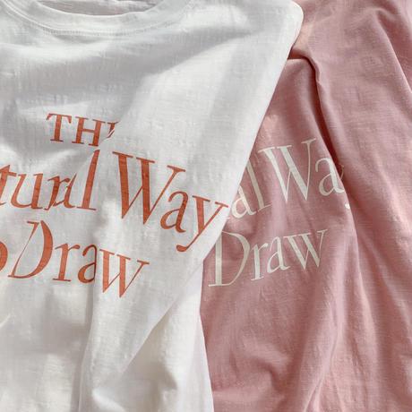 wide big t-shirt[pink]