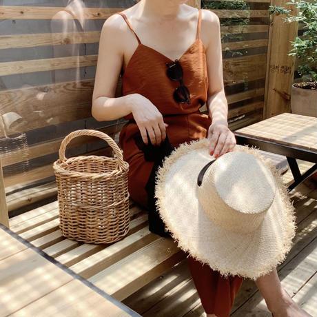 【即納】summer salopette