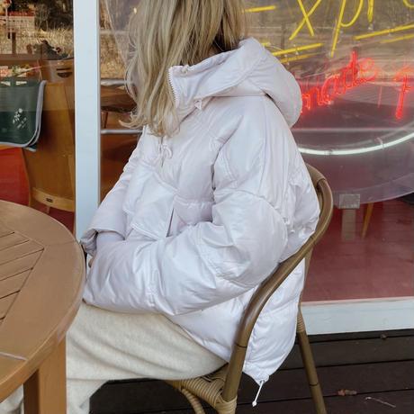 half zip pullover down[pink]
