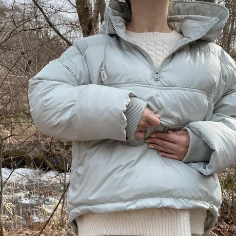 half zip pullover down[sky blue]