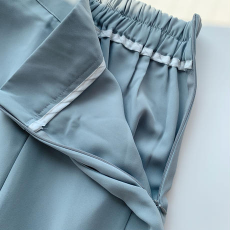 【即納】slit slacks[blue]