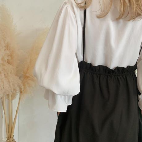 apron one-piece[black]