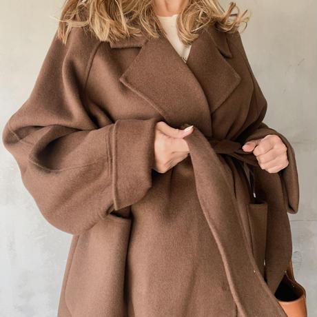 handmade gown long coat[brown]