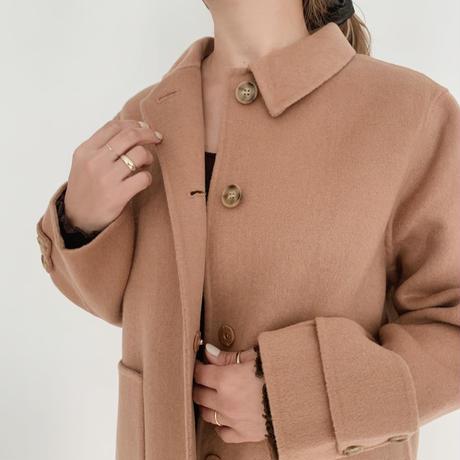 handmade coat[camel]
