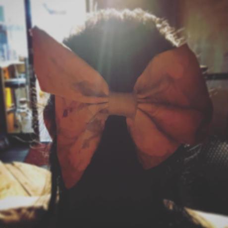 【売り切り終了】二匹の蝶バレッタ🦋