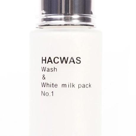 ハクワス ウォッシュ&ホワイトミルクパック50g