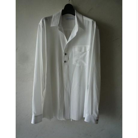 """DIET BUTCHER SLIM SKIN """"2 button shirt"""""""
