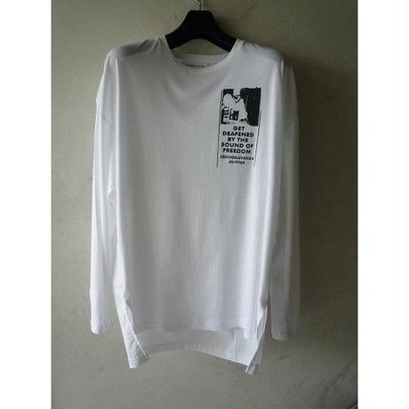 "DIET BUTCHER SLIMSKIN ""back shirt long sleeve T"""