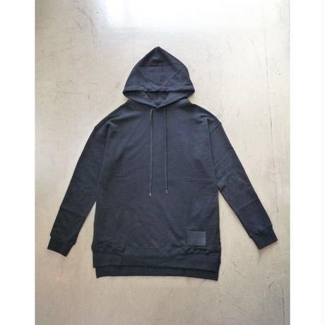 "DIET BUTCHER SLIM SKIN ""leather  patch hoodie"""