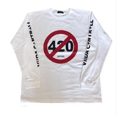 420long sleeve(white)