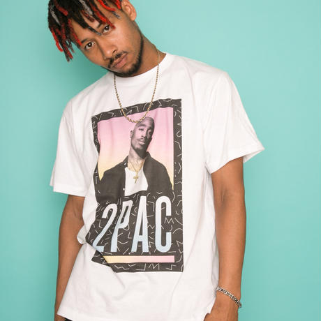 """ViiDA×2PAC official Tee  """"MIX"""" (white)"""