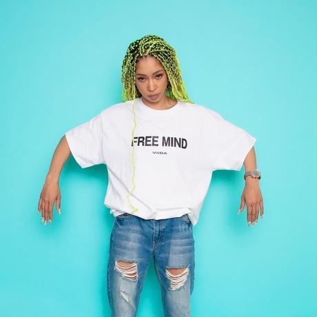 Free Mind Tee(White)