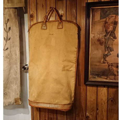 【 ~1940s Abercrombie&Fitch 】Canvas bag.  ( junk products)