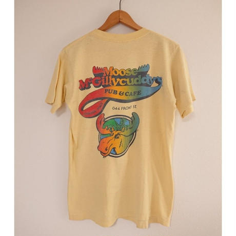 【 ~1980s SCREEN STARS 】Moose McCillycuddys.  T-shirt