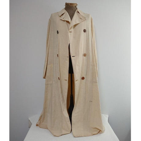 ~1930s Cotton   Duster Coat