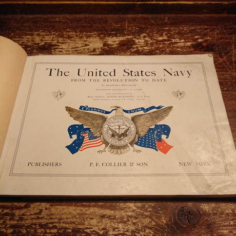 【 1910s~  U.S.NAVY 】History photo book.