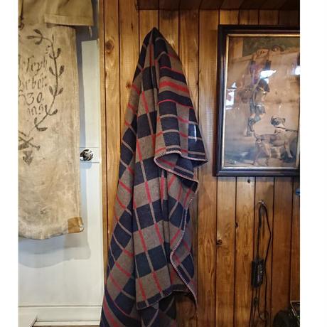 ~1960s  Check pattern  wool blanket