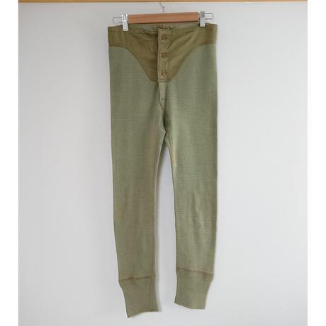【 1940s  U.S.ARMY 】Under pants.